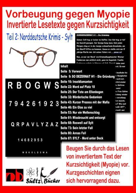 Cover-Bild Vorbeugung gegen Myopie - Invertierte Lesetexte gegen Kurzsichtigkeit