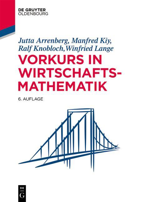 Cover-Bild Vorkurs in Wirtschaftsmathematik