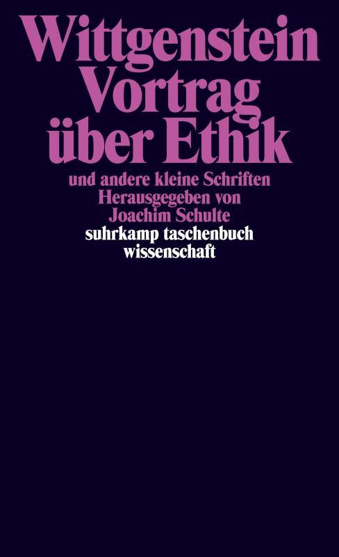 Cover-Bild Vortrag über Ethik