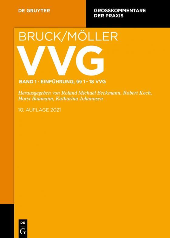 Cover-Bild VVG / Einführung; §§ 1-18 VVG