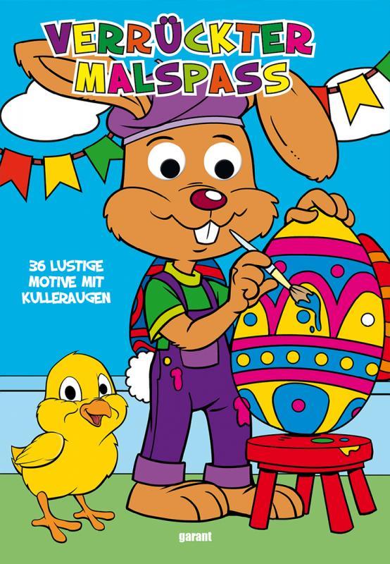 Cover-Bild Wackelaugenbuch Ostern