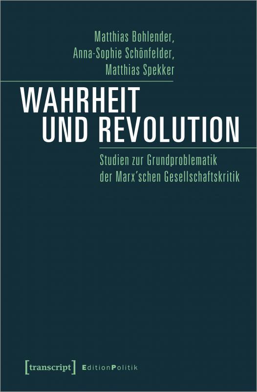 Cover-Bild Wahrheit und Revolution