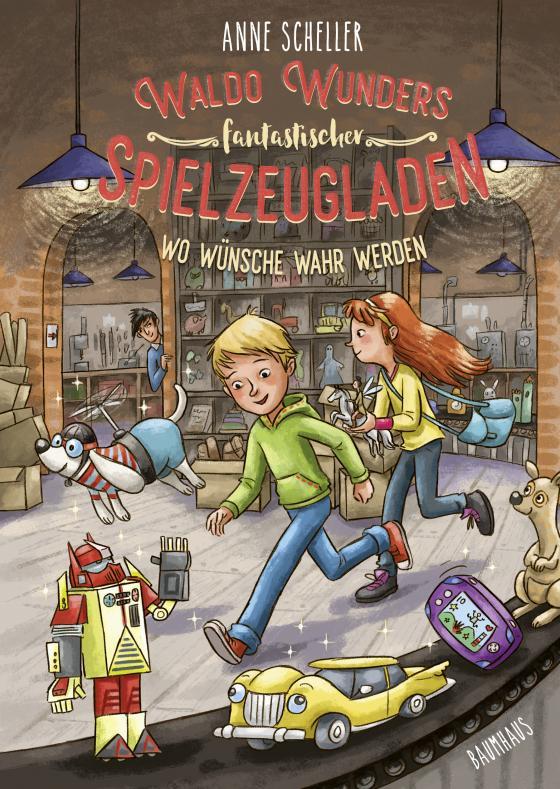 Cover-Bild Waldo Wunders fantastischer Spielzeugladen - Wo Wünsche wahr werden