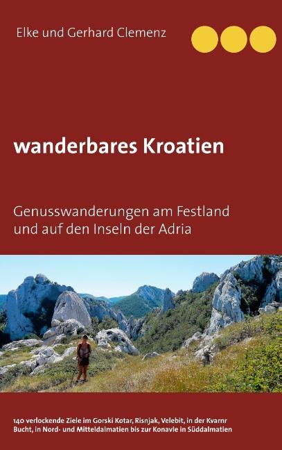 Cover-Bild wanderbares Kroatien