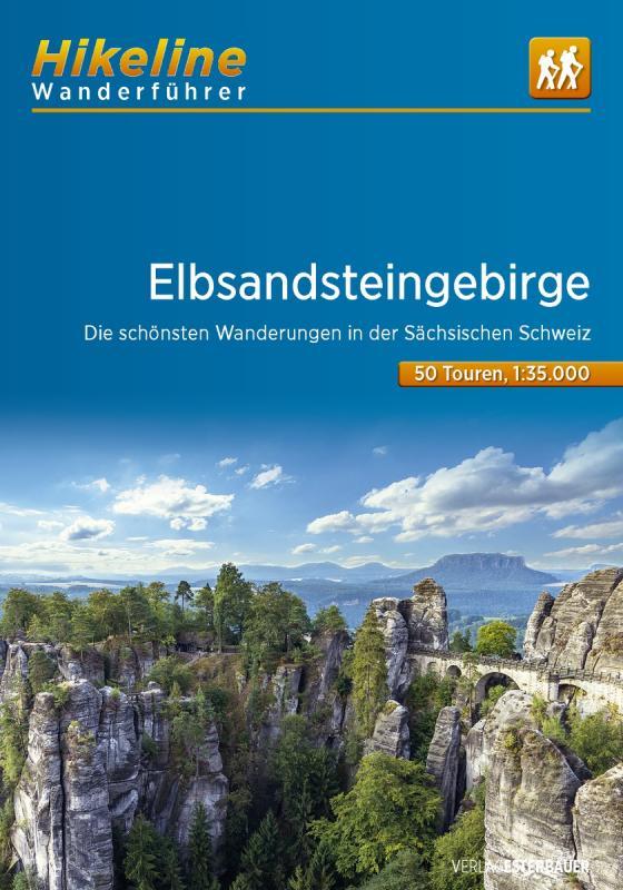 Cover-Bild Wanderführer Elbsandsteingebirge