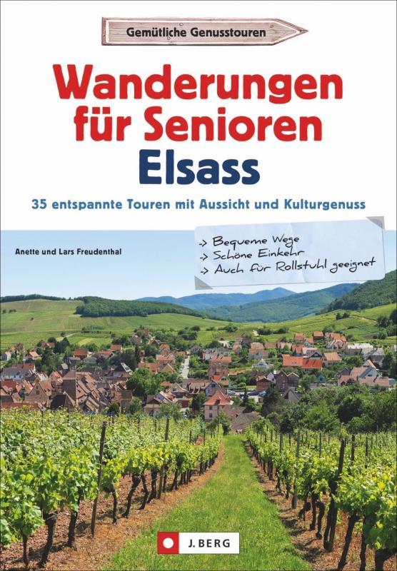 Cover-Bild Wanderungen für Senioren Elsass