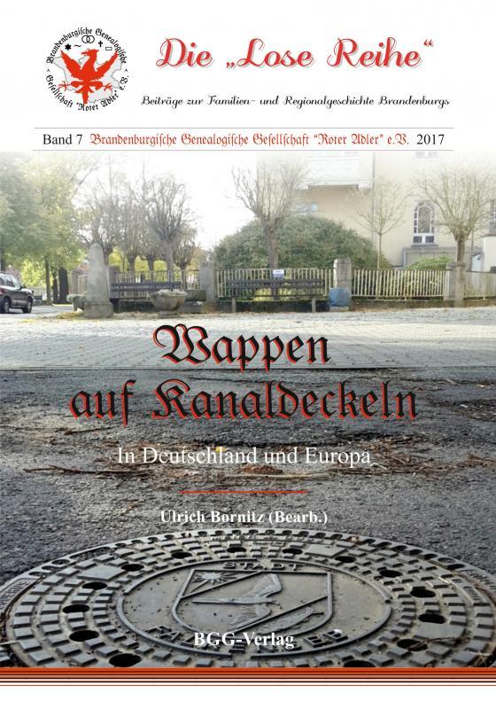 Cover-Bild Wappen auf Abwasserkanaldeckeln in Deutschland und Europa
