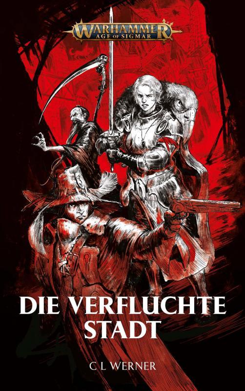 Cover-Bild Warhammer Age of Sigmar - Die verfluchte Stadt