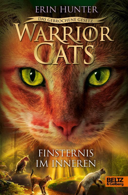 Cover-Bild Warrior Cats - Das gebrochene Gesetz - Finsternis im Inneren