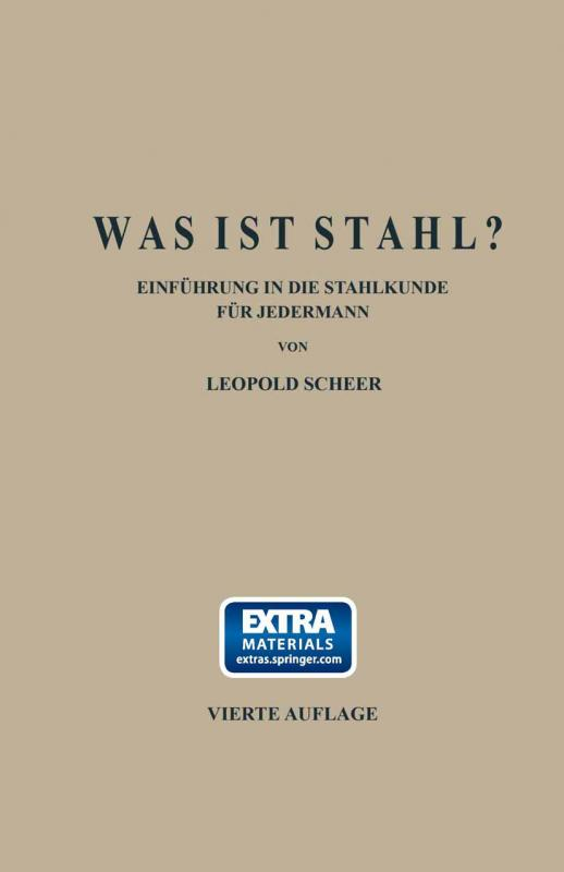 Cover-Bild Was ist Stahl?
