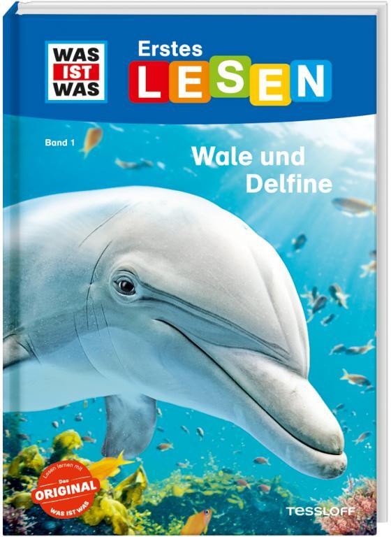 Cover-Bild WAS IST WAS Erstes Lesen, Band 1: Wale und Delfine