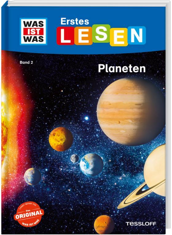 Cover-Bild WAS IST WAS Erstes Lesen, Band 2: Planeten