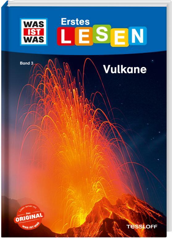 Cover-Bild WAS IST WAS Erstes Lesen, Band 3: Vulkane