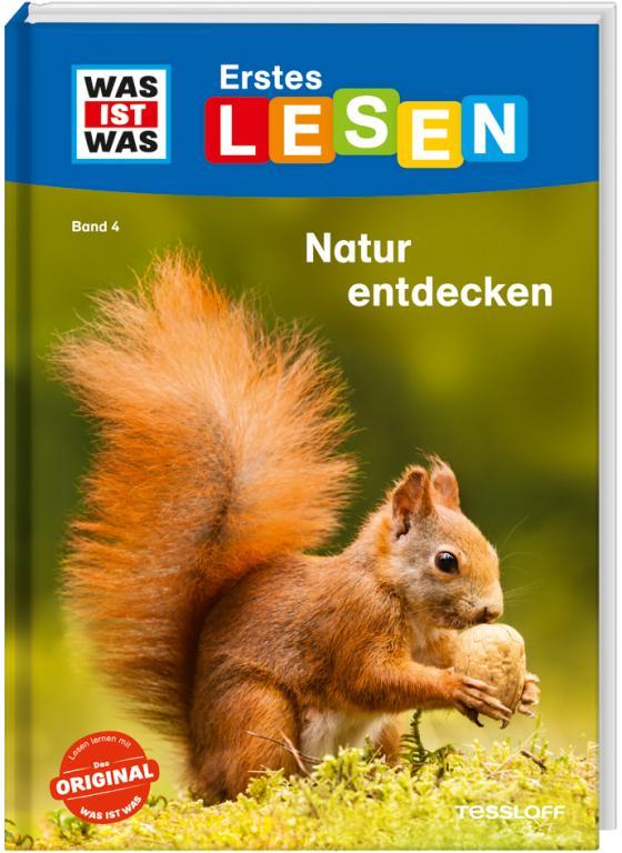 Cover-Bild WAS IST WAS Erstes Lesen, Band 4: Natur entdecken