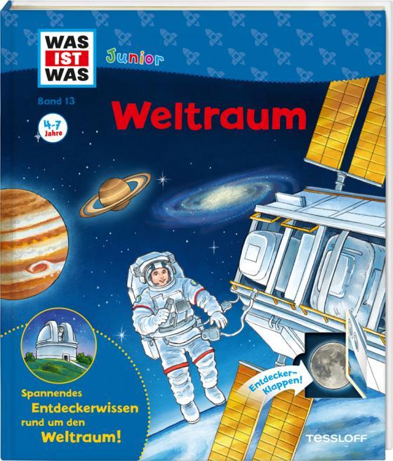 Cover-Bild WAS IST WAS Junior Band 13. Weltraum