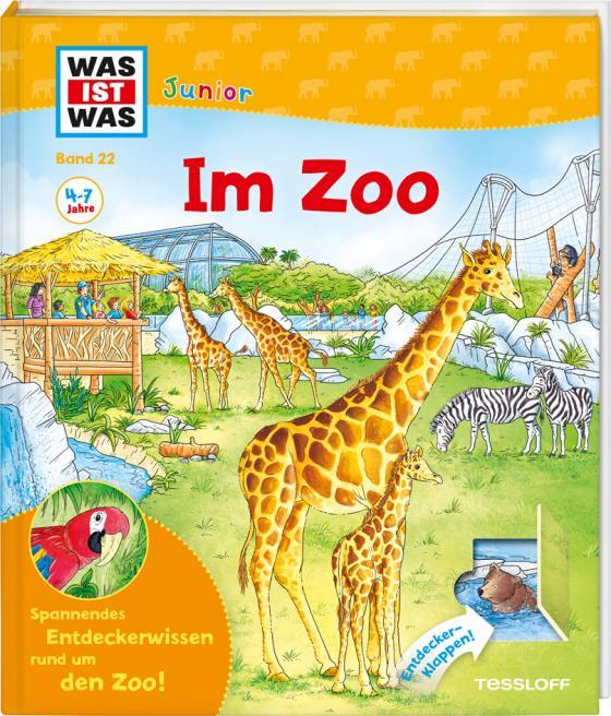 Cover-Bild WAS IST WAS Junior Band 22. Im Zoo