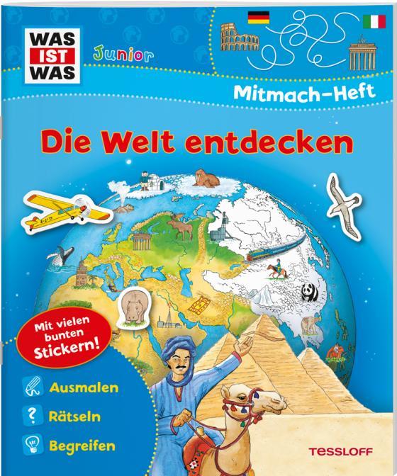 Cover-Bild WAS IST WAS Junior Mitmach-Heft Die Welt entdecken