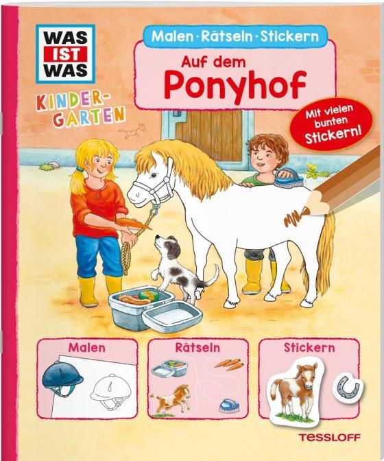 Cover-Bild WAS IST WAS Kindergarten. Auf dem Ponyhof