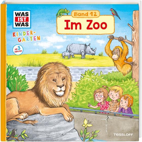 Cover-Bild WAS IST WAS Kindergarten, Band 12 Im Zoo