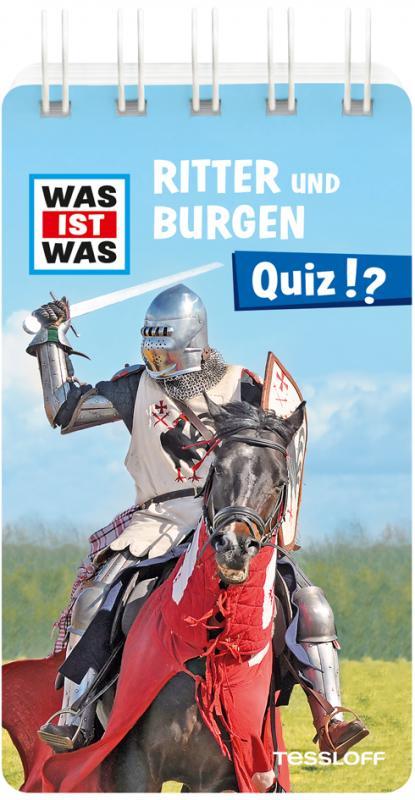 Cover-Bild WAS IST WAS Quiz Ritter und Burgen