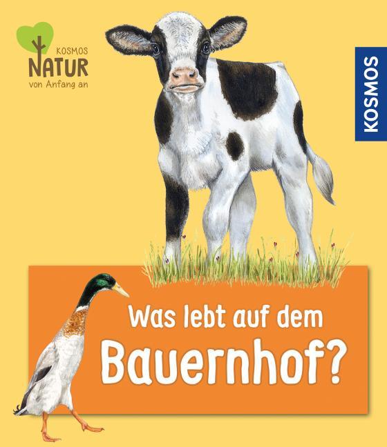Cover-Bild Was lebt auf dem Bauernhof?
