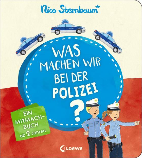 Cover-Bild Was machen wir bei der Polizei?