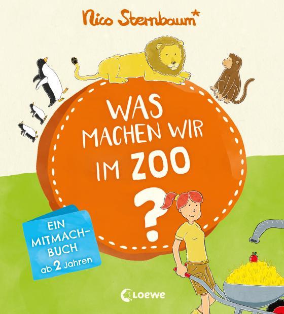 Cover-Bild Was machen wir im Zoo?
