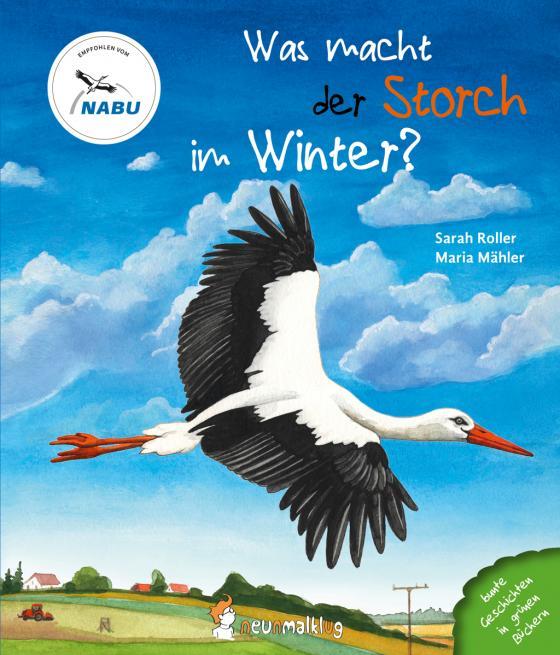 Cover-Bild Was macht der Storch im Winter?