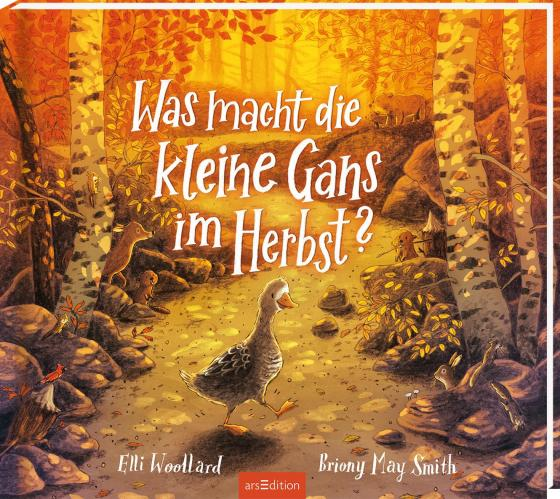 Cover-Bild Was macht die kleine Gans im Herbst?