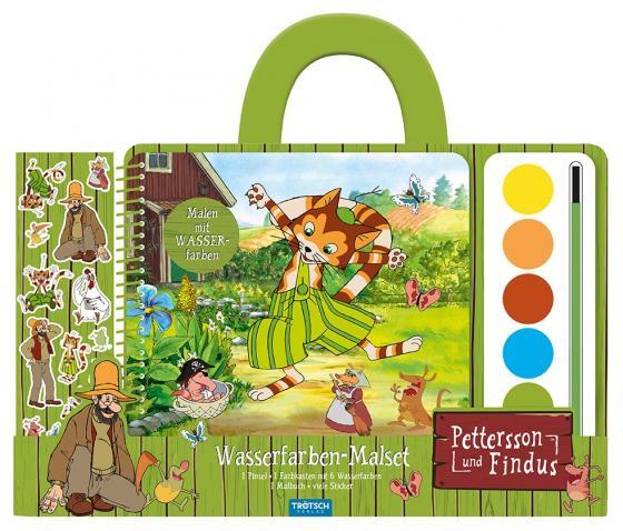 """Cover-Bild Wasserfarbenmalset """"Pettersson & Findus"""""""