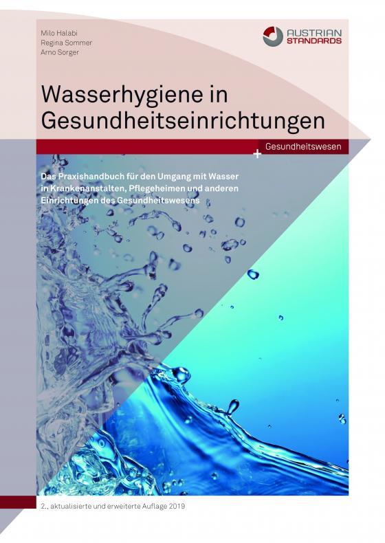 Cover-Bild Wasserhygiene in Gesundheitseinrichtungen