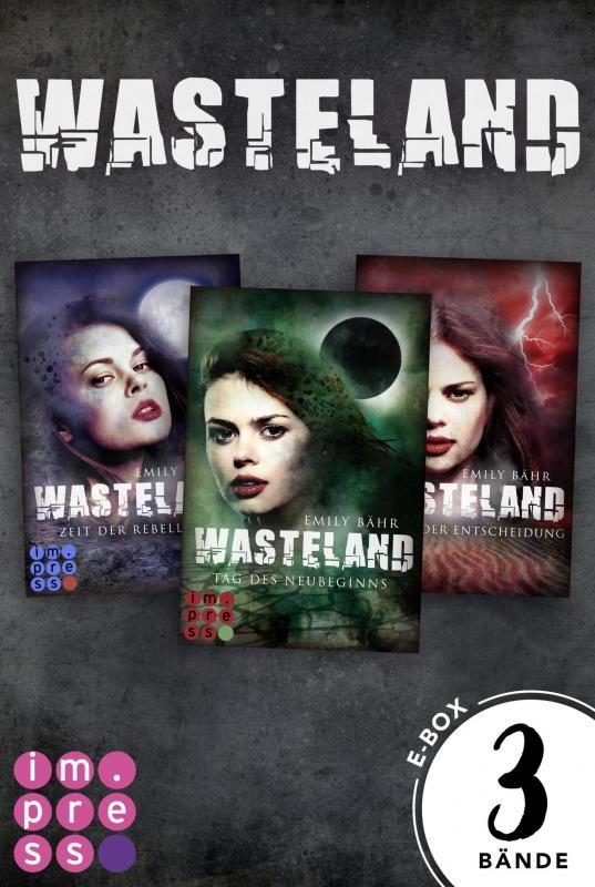 Cover-Bild Wasteland: Alle drei Bände der dystopisch-romantischen Reihe in einer E-Box!