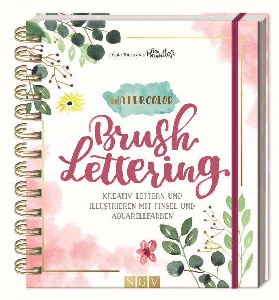 Cover-Bild Watercolor Brush Lettering