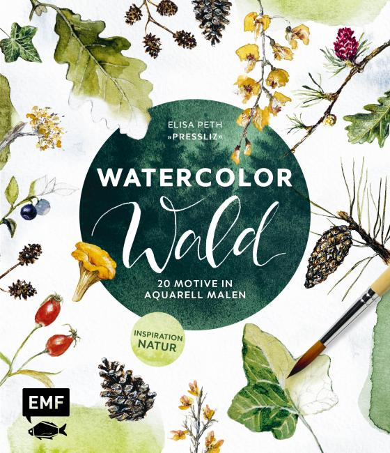 Cover-Bild Watercolor Wald