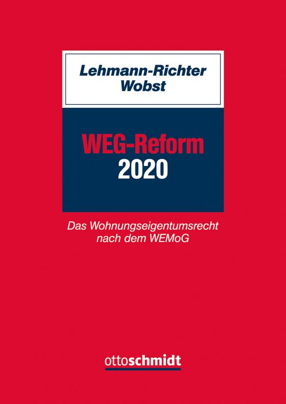 Cover-Bild WEG-Reform 2020