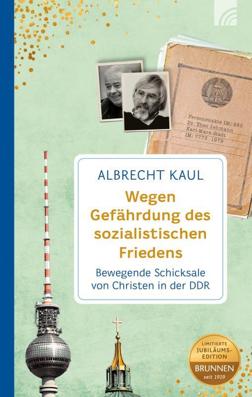 Cover-Bild Wegen Gefährdung des sozialistischen Friedens