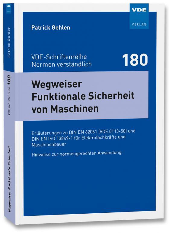 Cover-Bild Wegweiser Funktionale Sicherheit von Maschinen
