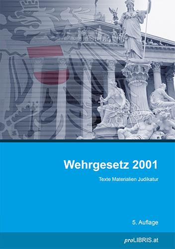 Cover-Bild Wehrgesetz 2001