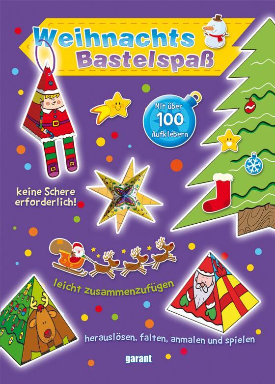 Cover-Bild Weihnacht-Bastelspaß lila