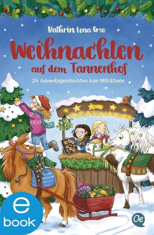 Cover-Bild Weihnachten auf dem Tannenhof