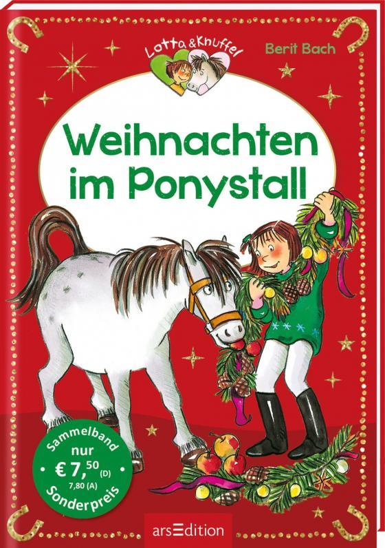 Cover-Bild Weihnachten im Ponystall (Lotta und Knuffel)