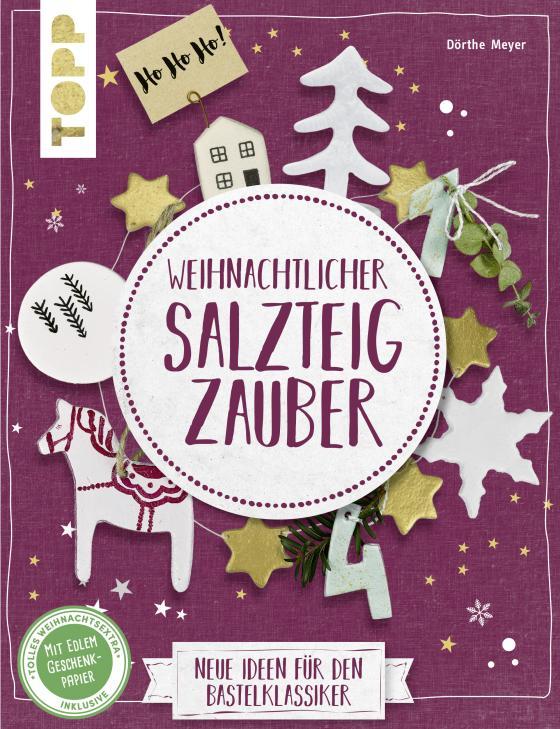 Cover-Bild Weihnachtlicher Salzteigzauber (kreativ.kompakt)