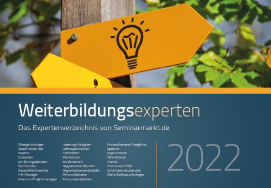 Cover-Bild Weiterbildungsexperten 2022