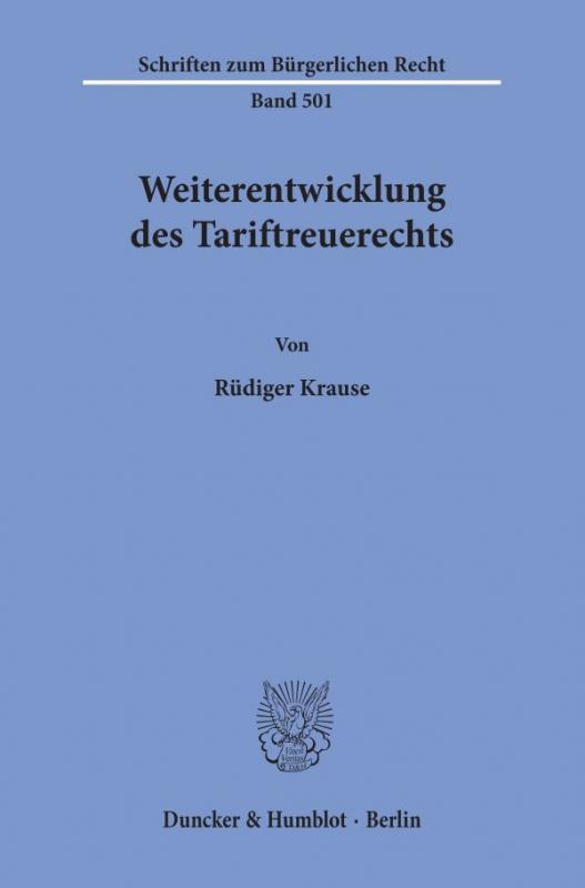 Cover-Bild Weiterentwicklung des Tariftreuerechts.