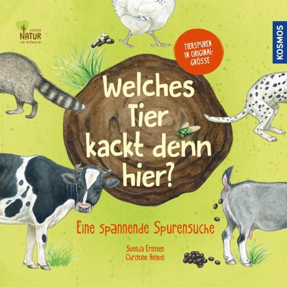 Cover-Bild Welches Tier kackt denn hier?