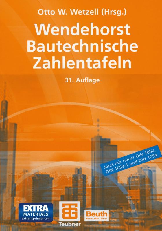 Cover-Bild Wendehorst Bautechnische Zahlentafeln