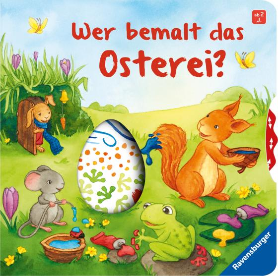 Cover-Bild Wer bemalt das Osterei?