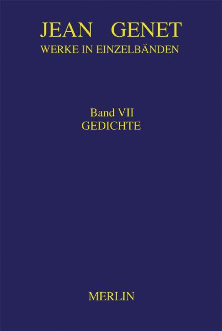 Cover-Bild Werkausgabe / Gedichte