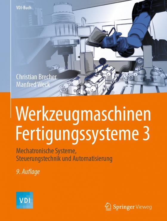 Cover-Bild Werkzeugmaschinen Fertigungssysteme 3