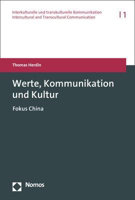 Cover-Bild Werte, Kommunikation und Kultur